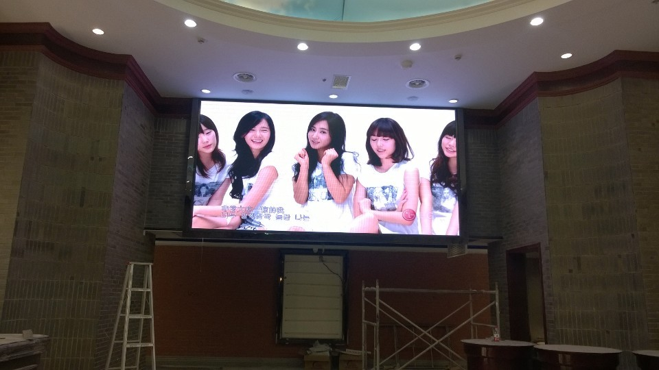 滁州凤阳横店电影城P4全彩显示屏