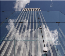 大厦玻璃幕墙屏