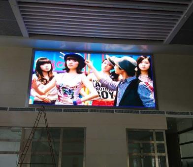宁国汽车站P5全彩显示屏