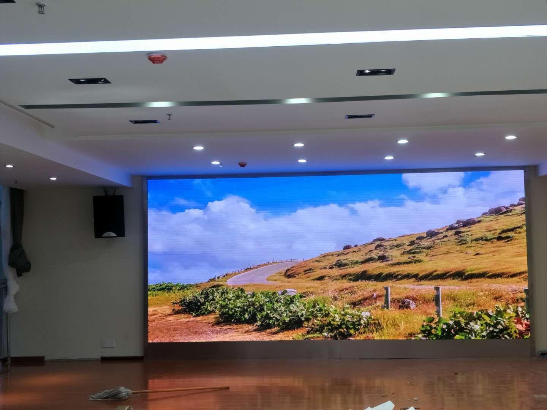 蚌埠和顺大厦P2.0室内全彩
